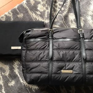 Burberry diaper bag and changing pad